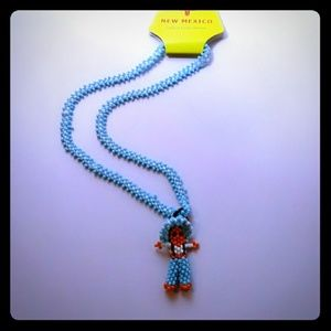 Hand Crafted New Mexick Seed Bead Necklace